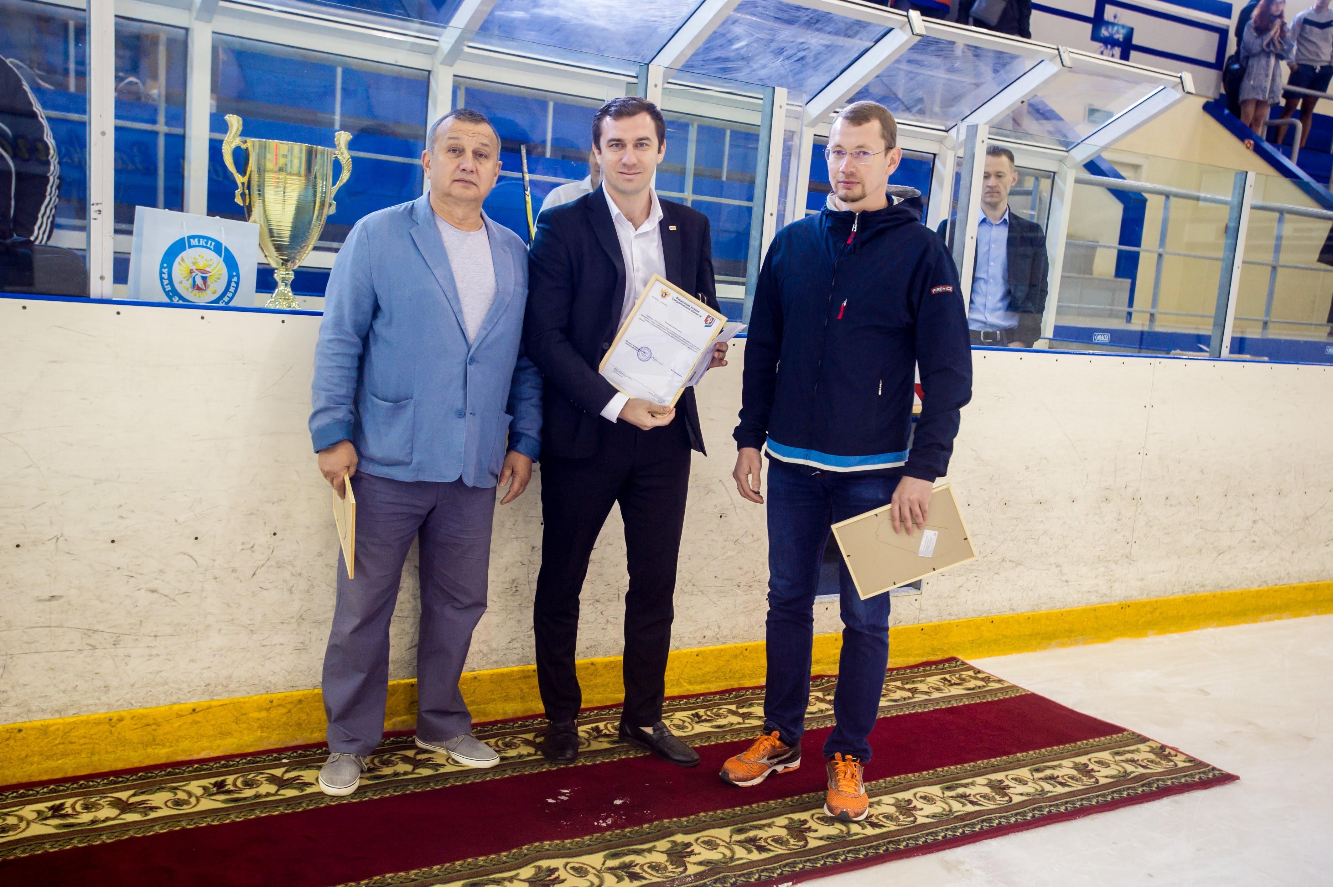 Награждение призеров сезона